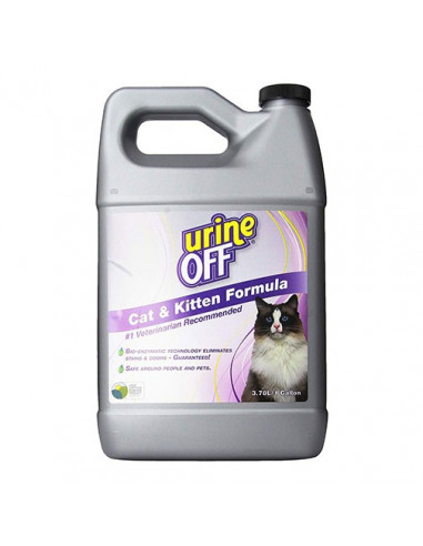 Urine OFF™ Cat Odour & Stain Remover Gallon (3.8 Litres)