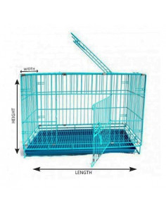 Pawzone Cage For Dogs Large 91x56x67 Inches Length