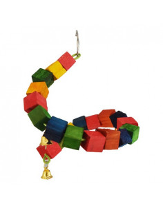 Pawzone Small Bird Toys - DNA Swing