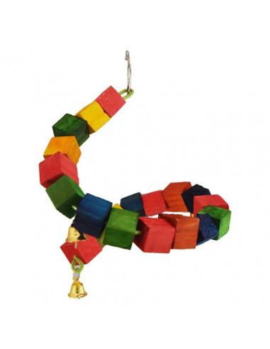 Pawzone Small Bird Toys - DNA Swing