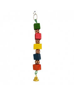 Pawzone Small Bird Toys - One Way Beads