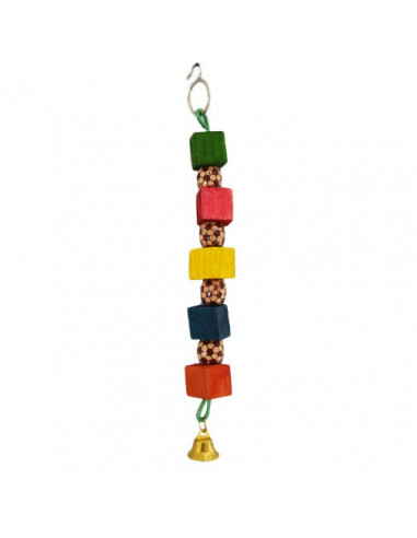 Pawzone Small Bird Toys - One Way Beads