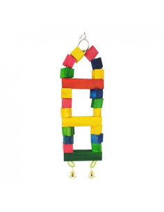 Pawzone Small Bird Toys - Small Ladder