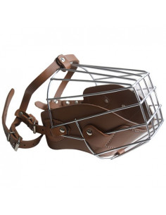 Pets Empire PU Leather Muzzle