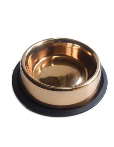 Pets Empire Rose Gold Dog Bowl 450ml