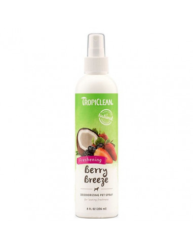 Tropiclean Berry Breeze  Pet Cologne Spray 236 ml