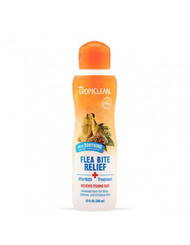 Tropiclean After Bath Flea & Tick Relief Treatment 355 ml