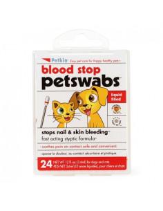 PetKin Blood Stop Pet Swabs -  24 Swabs