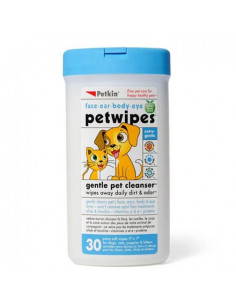 PetKin Pet Wipes - 30 Wipes