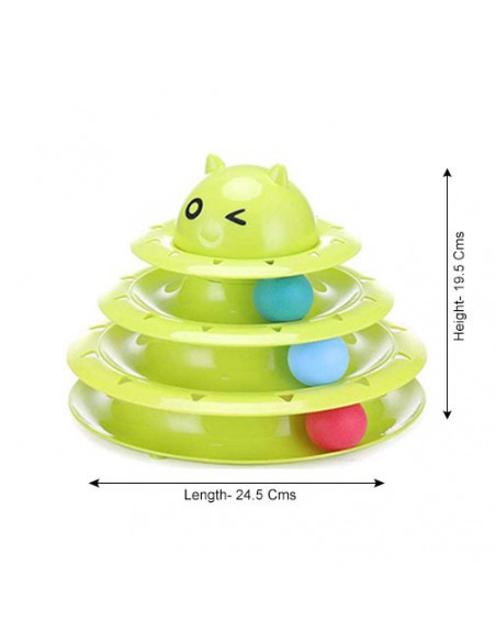 Pets Empire Circular Turntable Cat Toy