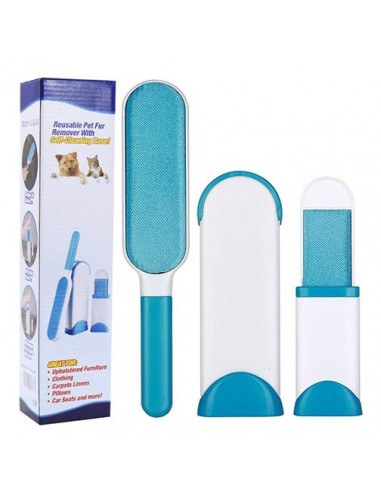 Pets Empire Pet Fur Remover With Self Cleaning Base