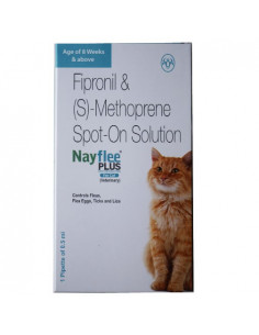 Intas Nayflee Plus Spot on Solution for Cats 0.5ml