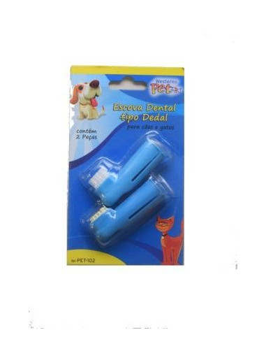 Tooth Brush + Massage Brush for Dog