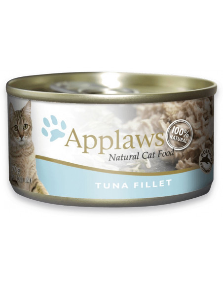 Applaws Natural Cat Food Tuna Fillet 70gm (Pack of 2)