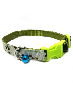 Pawzone Stylish Collar With Bell For Dogs & Cats