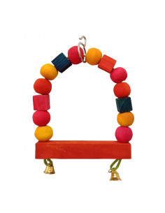 Pawzone Small Bird Toys - Single Swing