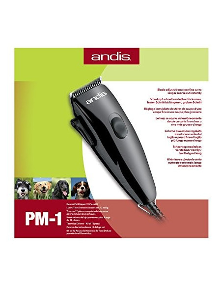 Andis PM1 Deluxe Pet Clipper