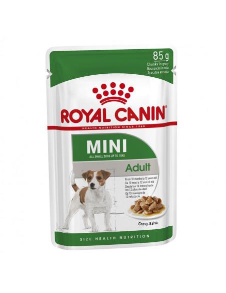 Royal Canin Mini Adult Wet Gravy Pouches (12 pouches ) 1.02kg
