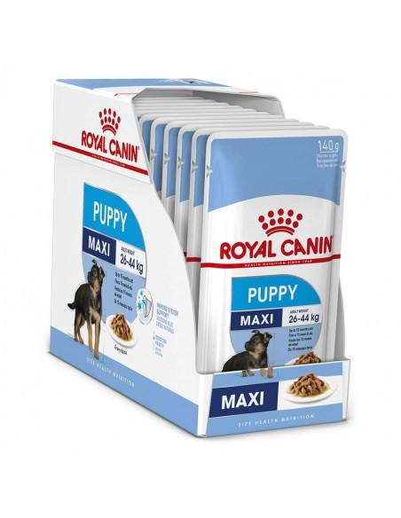 Royal Canin Puppy Maxi  Wet Gravy Pouches (10 Pouches) 1.4kg