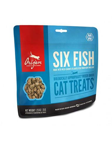 Orijen Six Fish Cat Treats 35 Grams