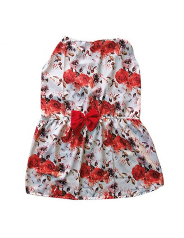 Pawzone Stylish Red Summer Frock
