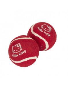 Hello Kitty Tennis Balls Dog Toy 2pk