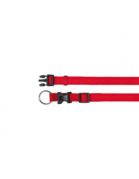 Trixie Dog Classic Leash Fully Adjustable - Small - 15 mm - Red