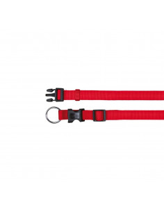 Trixie Classic Dog Collar - Small - 15 mm - Red