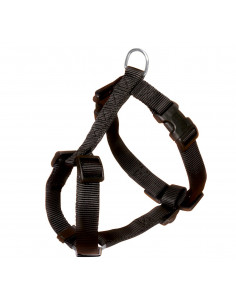 """Trixie Classic Harness - Large -30"""" - 39""""/25 mm - Black"""