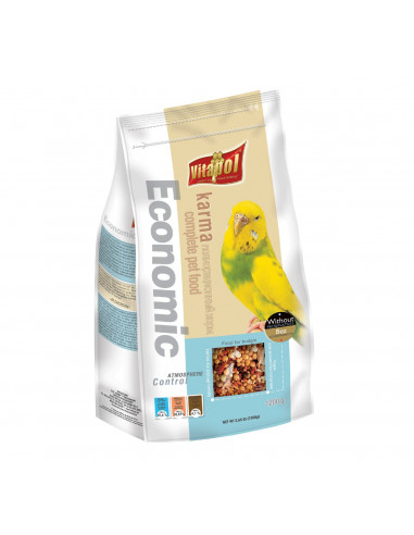 Vitapol Economic Food for Budgie, 1200 Gms