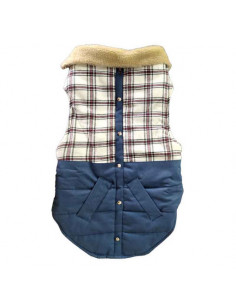 Pawzone Windproof Cotton-Padded Jacket for Dogs/Cats in Autumn & Winter