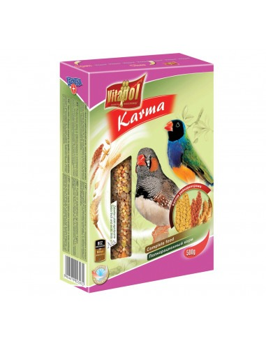 Vitapol Food for Zebra and Exotic Birds, 500 Gms
