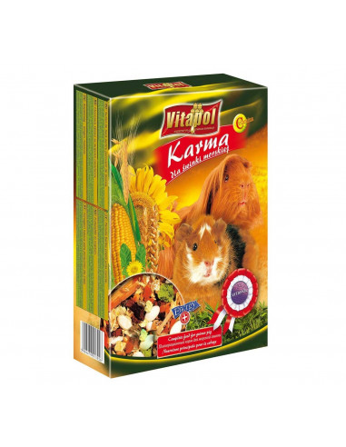 Vitapol Food For Guinea Pig, 400 Gms