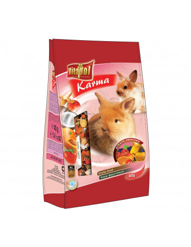 Vitapol Fruit Food For Rabbit,  400 Gms