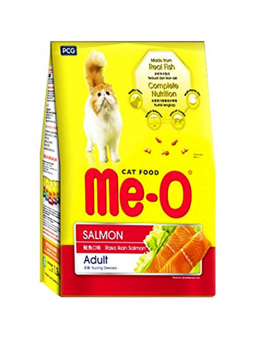 Me-O Adult Cat Food, Salmon, 7 kg