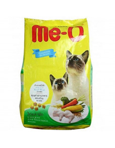 Me-o Adult  Chicken & Veg Cat Food, 1.2 Kg