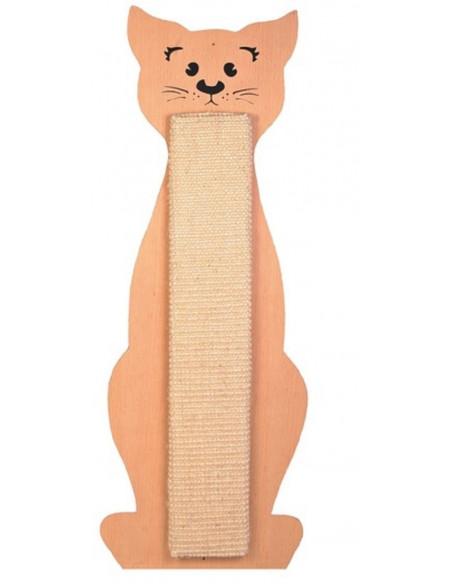 Trixie Cat Scratching Board Cat Shaped, Beige