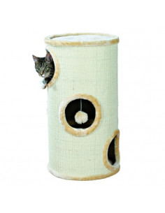 Trixie Samuel 3-Storey Cat Tower, Beige, Dia.36 x 70H cm