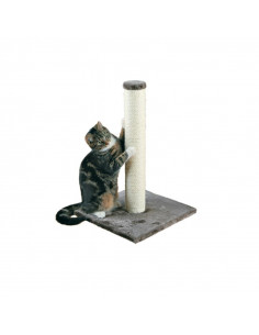 Trixie Parla Scratching Post for Cats, Platinum Grey