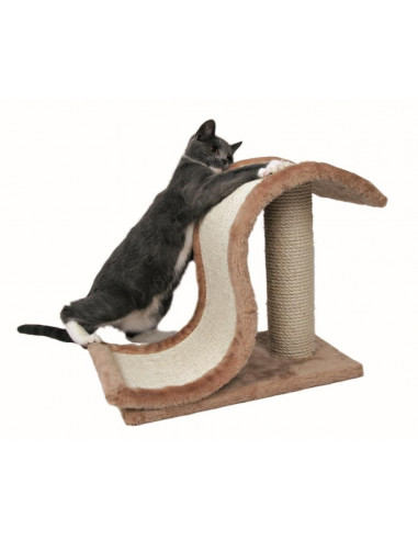 Trixie Inca Scratching Wave on Post for Cats