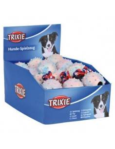 Trixie Ball on a Rope Dog Toys, Set of 24