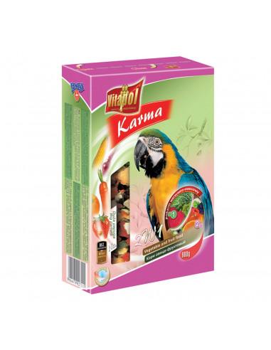 Vitapol Vegetable & Fruit For Big Parrots, 800 Gms