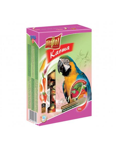 Vitapol Vegetable & Fruit For Big Parrots, 800gm