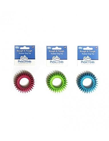 Petsentials Tough Rubber Disc Assorted Colours