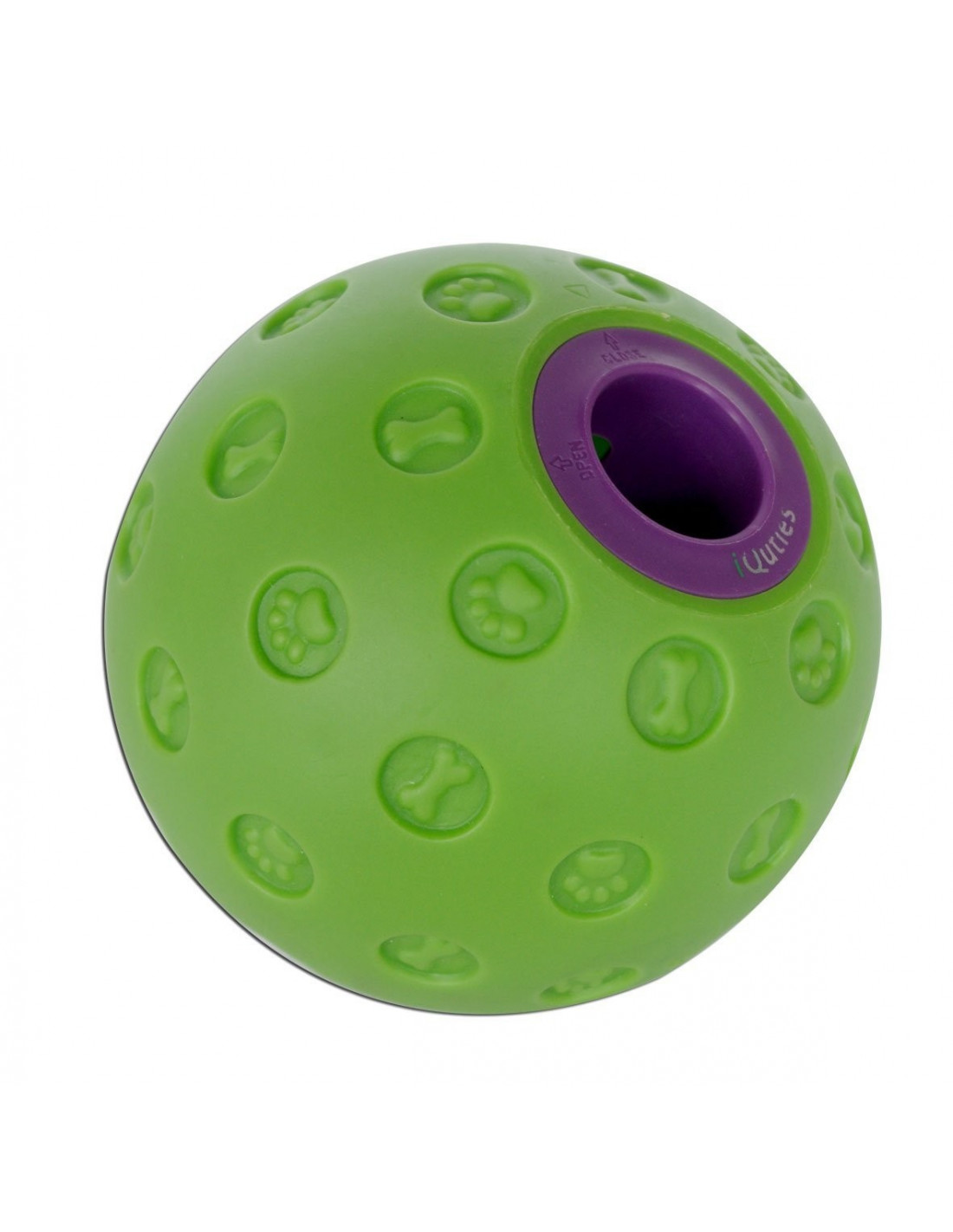 Large Dog Toys Balls : Iquities snack ball large dog toy