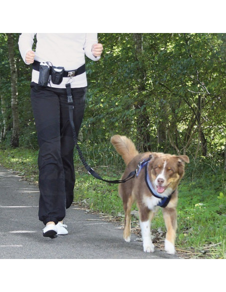 Trixie Hands free Dog Activity Waist Belt with Leash