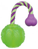 Ball on a Rope, Floatable, Thermoplastic Rubber, Dia. 5.5cm/23cm