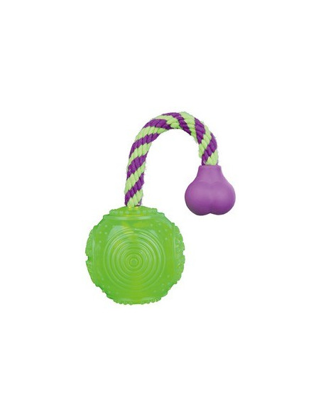 Trixie Ball on a Rope, Floatable Thermoplastic Rubber