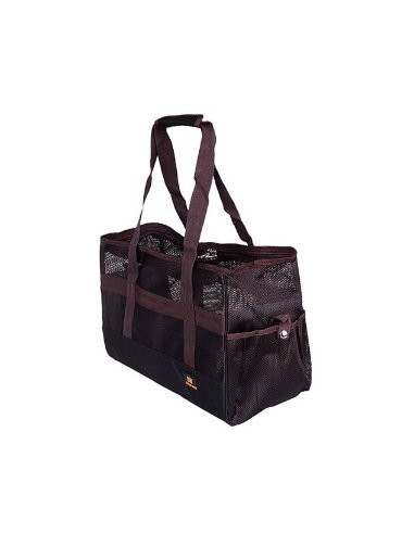 Pawzone Brown Traveller Bag for Dogs