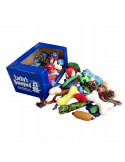 Petsport Lucky's Boneyard Assorted Toys 60 Qty in Shelf Display Box